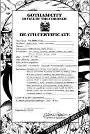 USA Death Certificates
